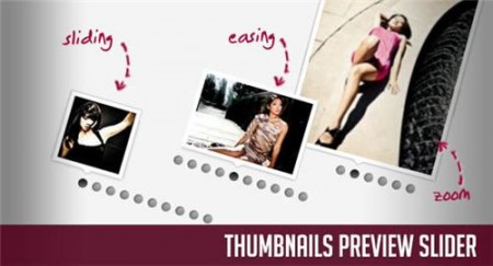 Thumbnails Preview Slider with jQuery