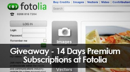 free fotolia subscription
