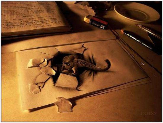 Incredible-and-Scary-3D-Pencil-Drawings-13