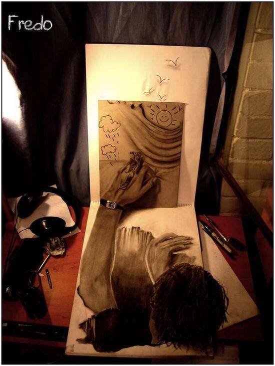 Incredible-and-Scary-3D-Pencil-Drawings-14