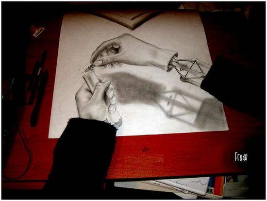 Incredible-and-Scary-3D-Pencil-Drawings-3
