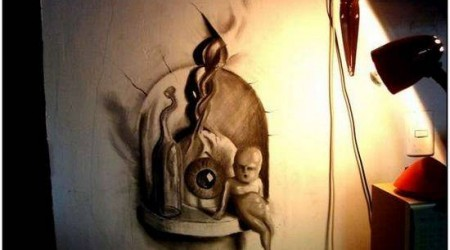 Incredible-and-Scary-3D-Pencil-Drawings-5