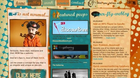 Retro Vintage Web Design9