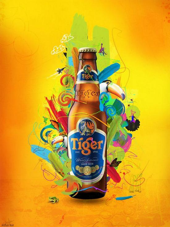Tiger Beer : Energy – by archanN