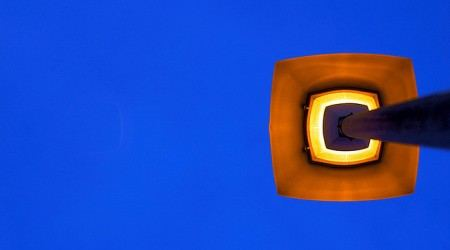 Minimalist street lamp © Clement Tang