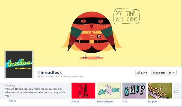 Facebook Timeline Covers for Brands