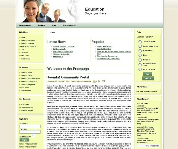 Education_joomla_template