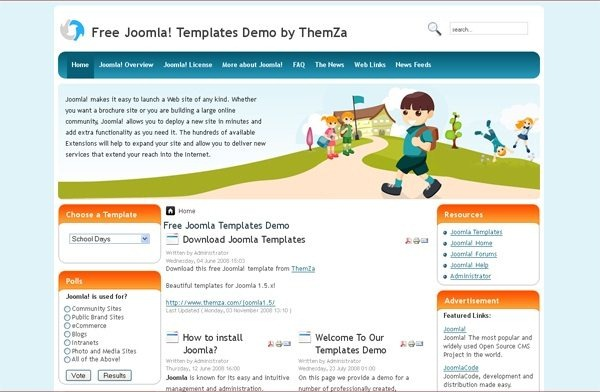 School_Days_education_joomla_template