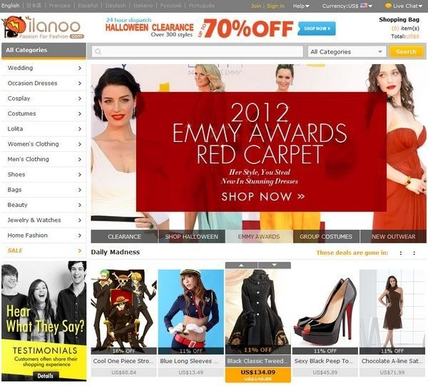 milanoo_fashion_ecommerce_websites