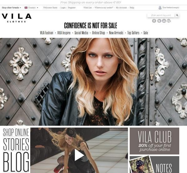 vila_fashion_ecommerce_websites