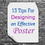 13 Tips To Follow For Effective Poster Designing