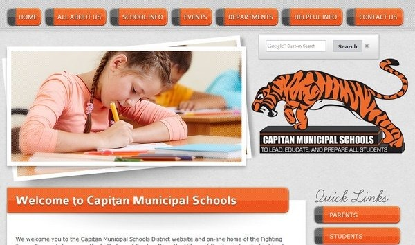 capitan_municipal_schools_educational_websites_inspiration
