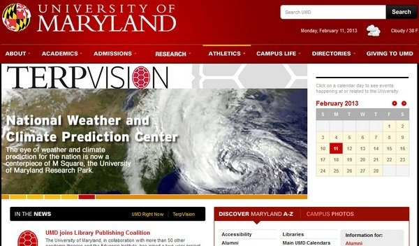 university_of_maryland_educational_websites_inspiration