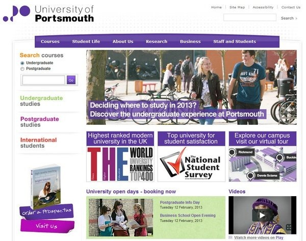 university_of_portsmouth_educational_websites_inspiration