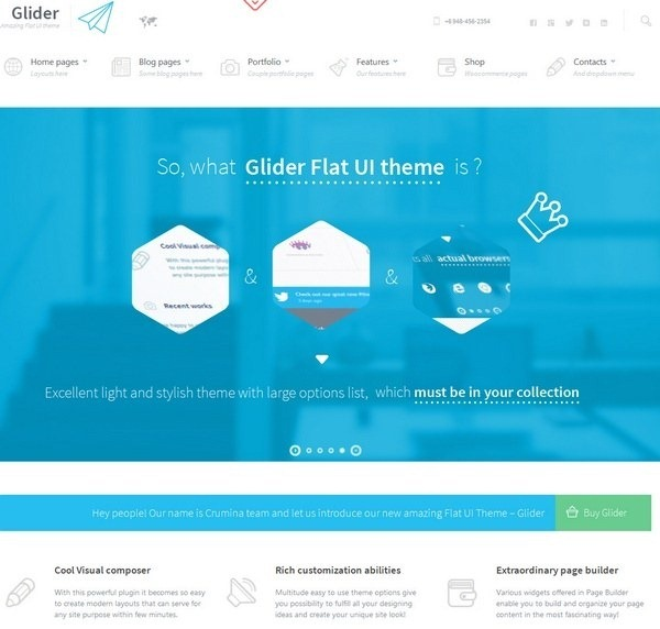 glider_clean_stylist_flat_theme