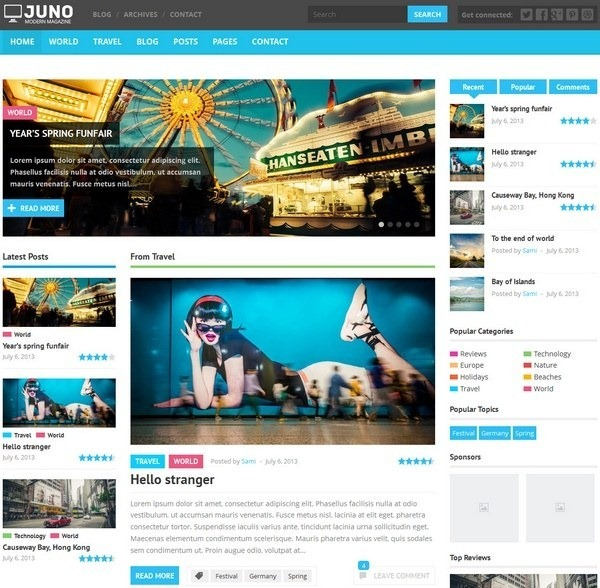 juno_flat_wordpress_magazine_theme