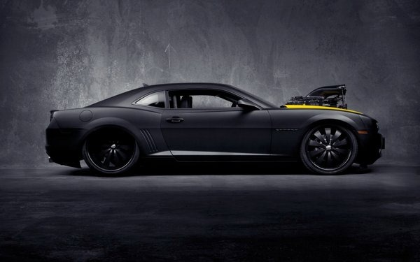 matte-black-chevrolet-camaro-ss-wallpapers
