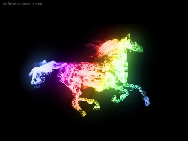 smoking-horse-wallpapers